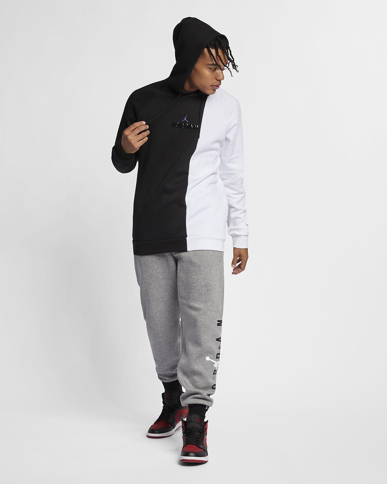 6f1709a8624592 Jordan Sportswear Legacy AJ 11 Men s Fleece Pullover Hoodie. Nike.com