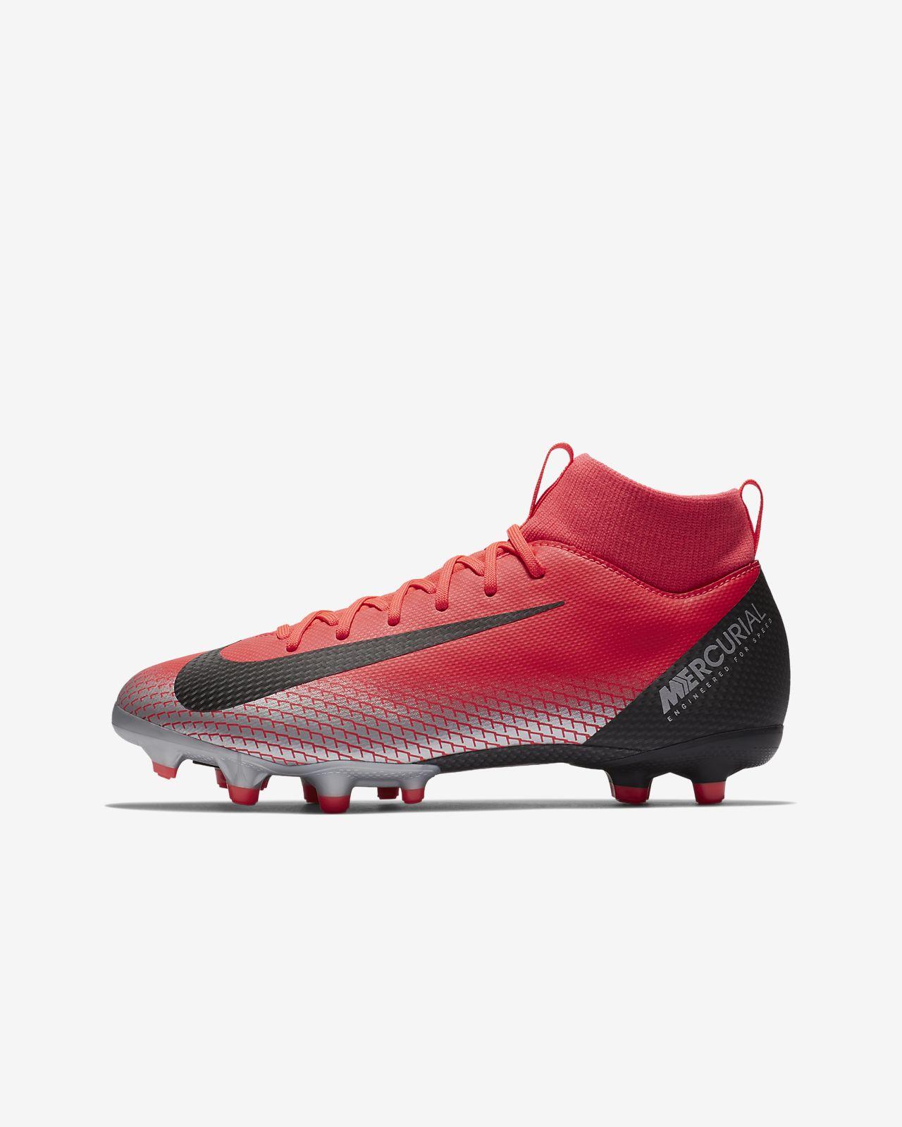 รองเท้าสตั๊ดฟุตบอลเด็กเล็ก/โตสำหรับพื้นหลายประเภท Nike Jr. Superfly 6 Academy LVL UP MG