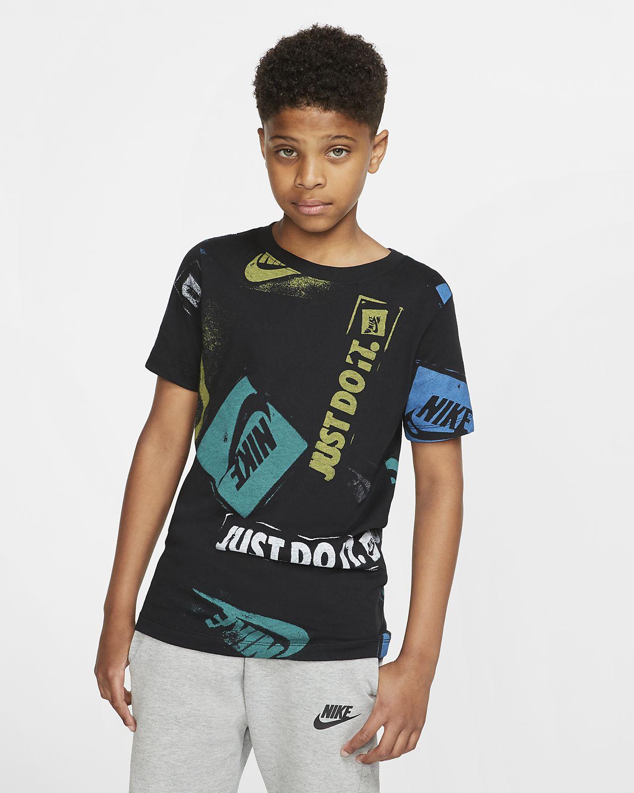 Nike Sportswear 大童印花 T 恤