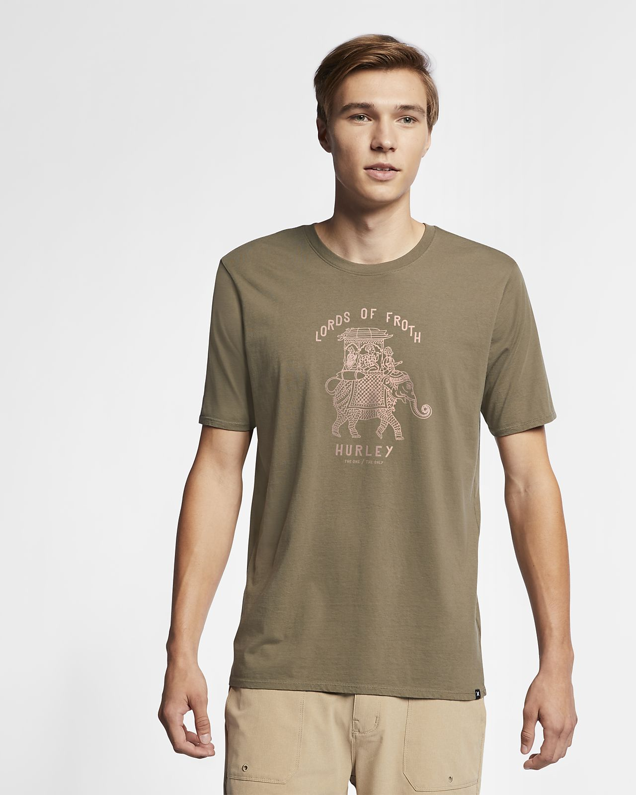 Hurley Lords Of Froth  Men's T-Shirt