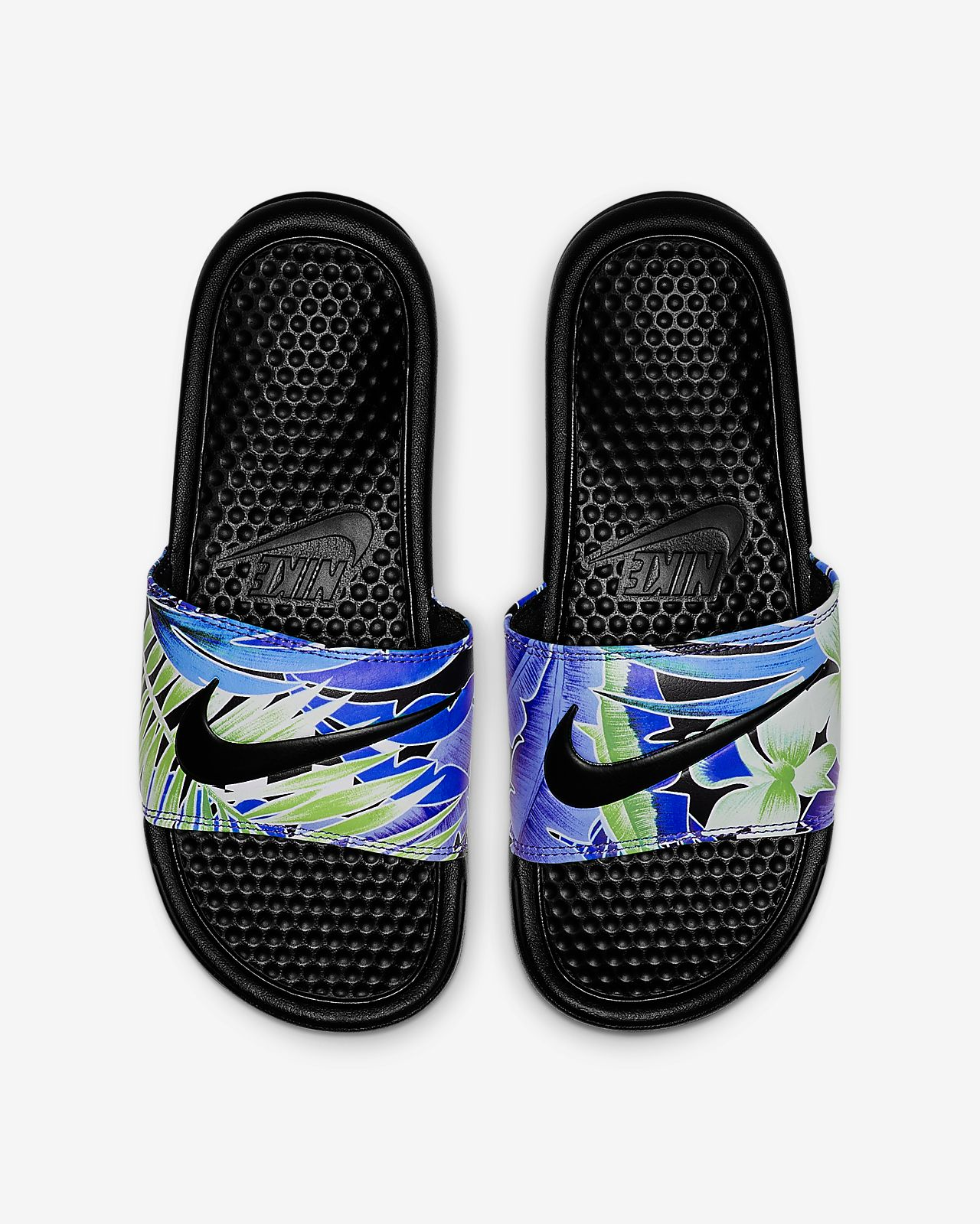 Nike Benassi JDI Floral 女款拖鞋