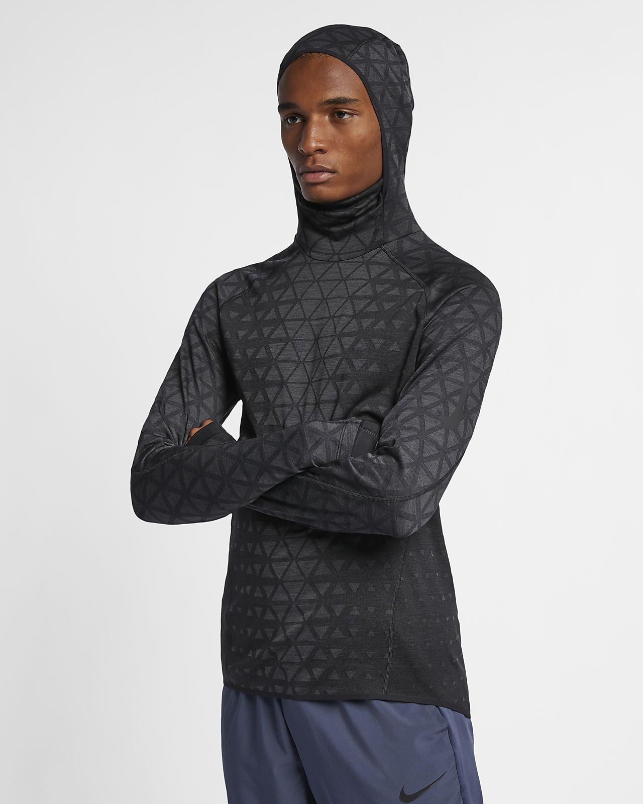 Męska koszulka treningowa z długim rękawem Nike Therma Sphere Premium