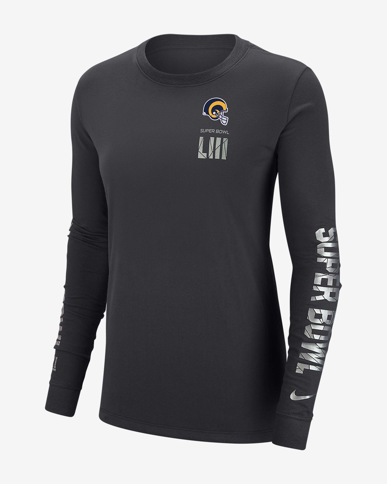 Nike Dri-FIT Super Bowl LIII (NFL Rams) Women s Long-Sleeve T-Shirt ... db418fabe8cd