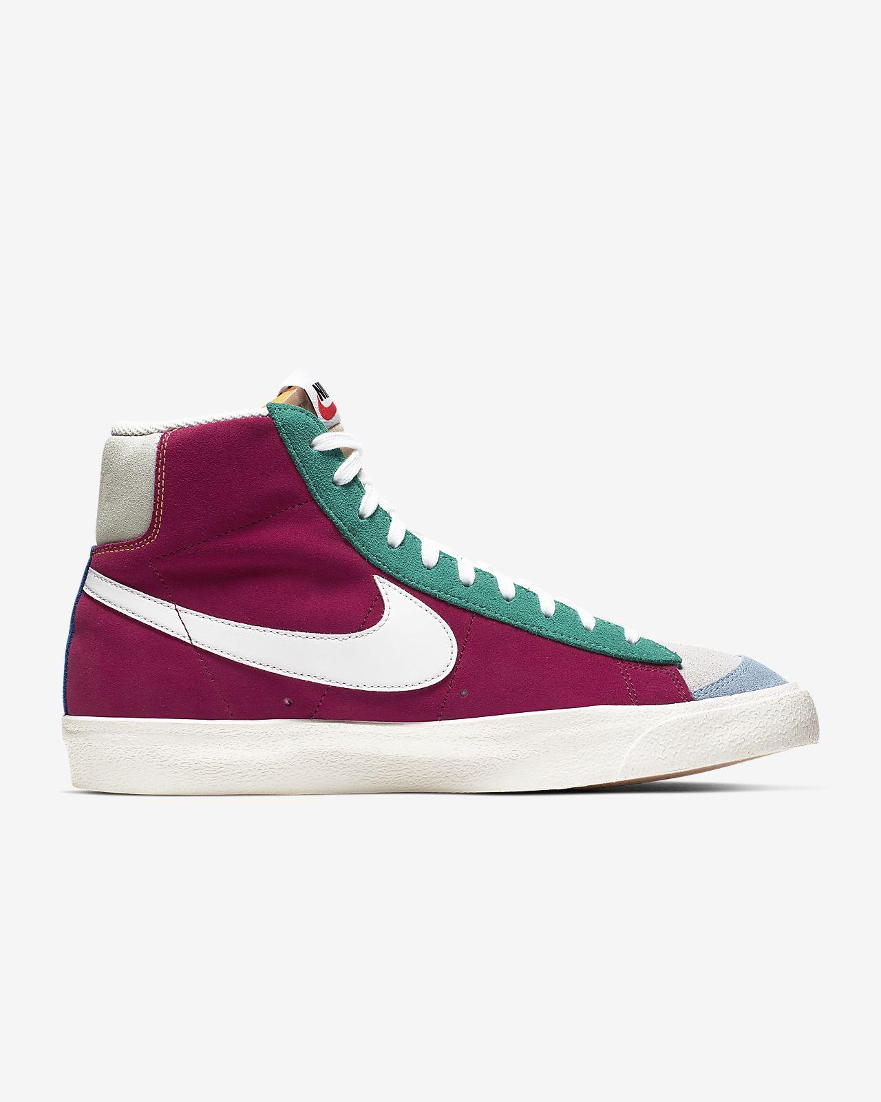 Blazer Calzado Hombre Para Mid Vintage Suede '77 Nike jqLc45RA3