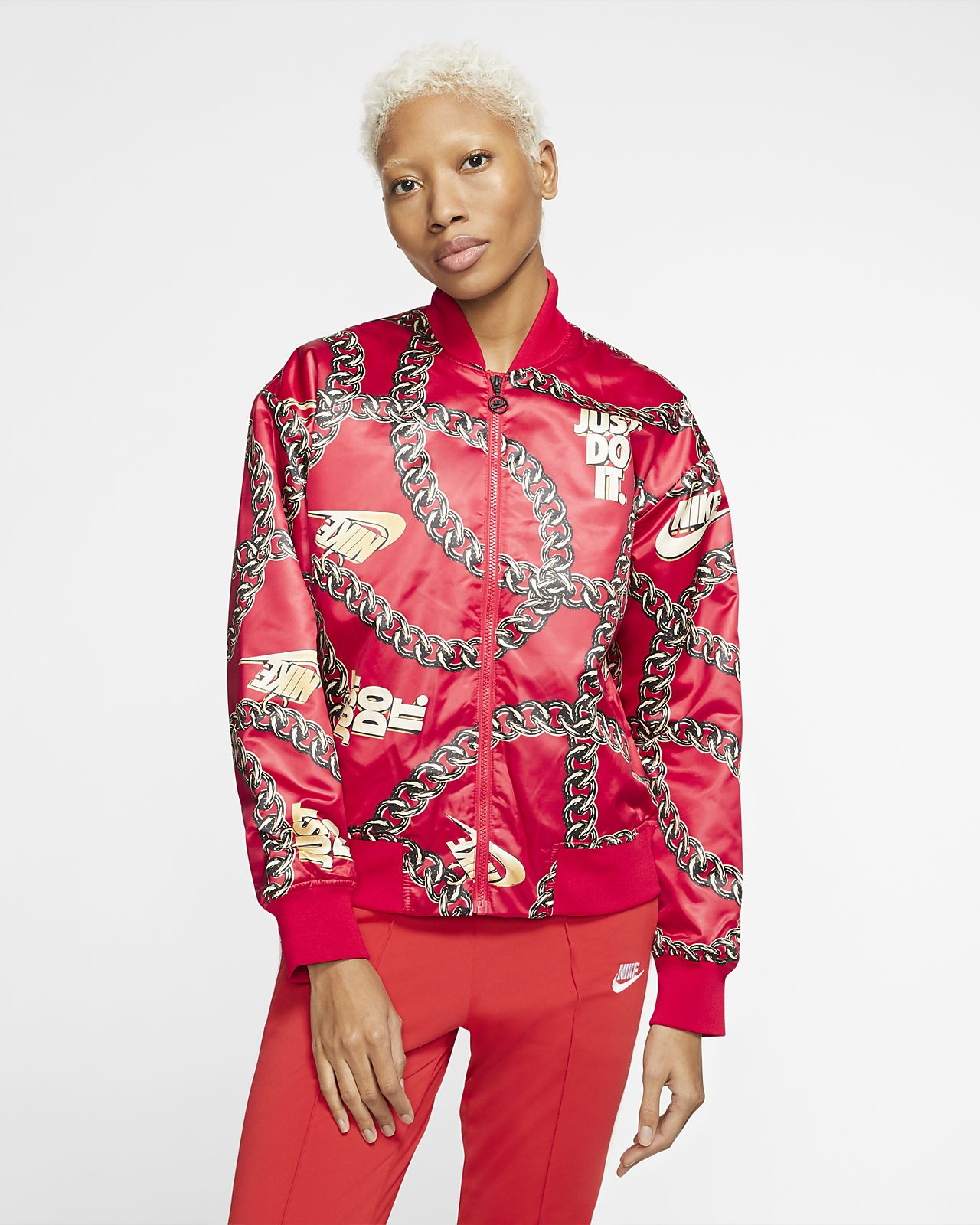 Giacca Nike Sportswear Synthetic Fill Icon Clash Donna