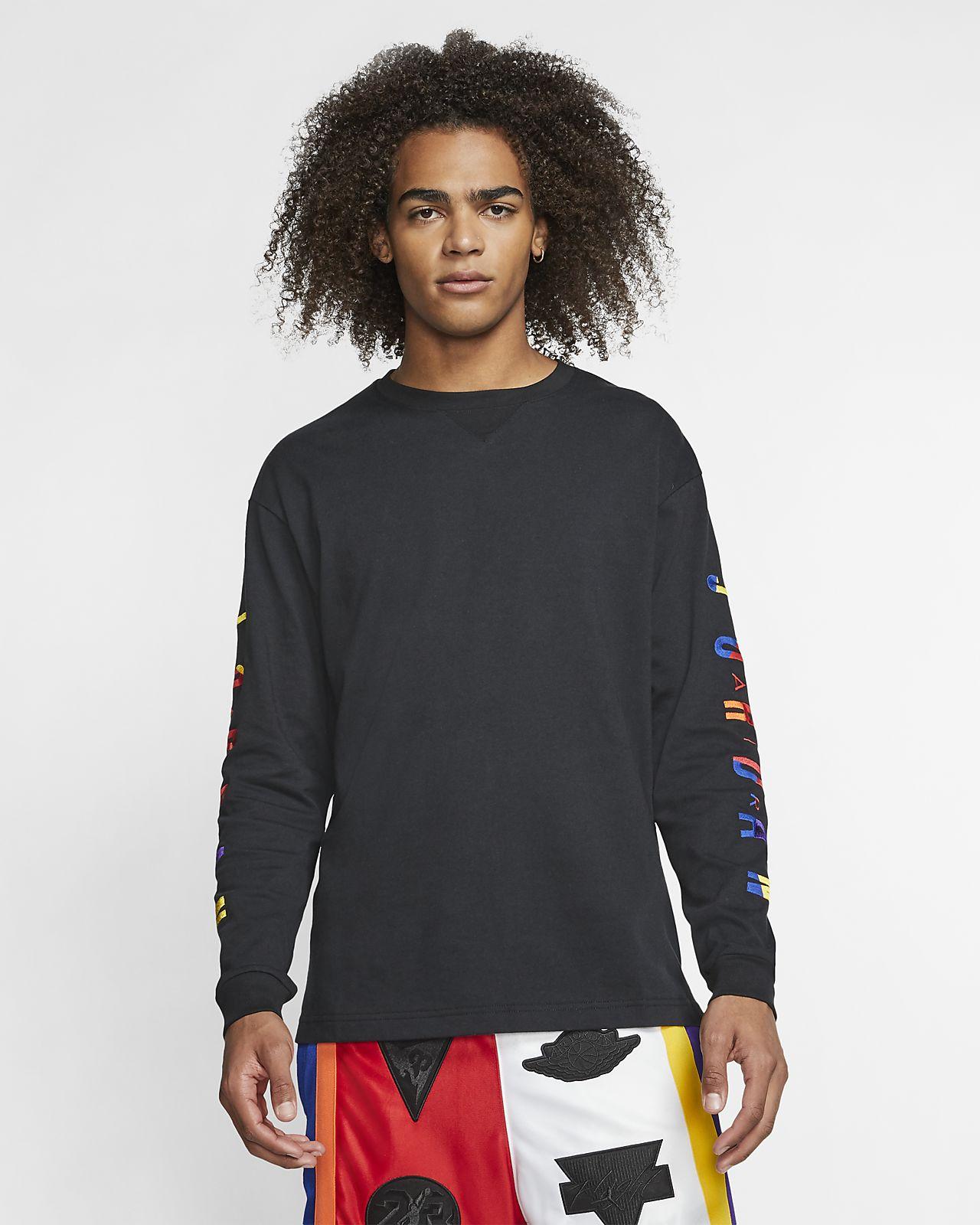 """Langærmet Jordan """"Rivals""""-T-shirt til mænd"""
