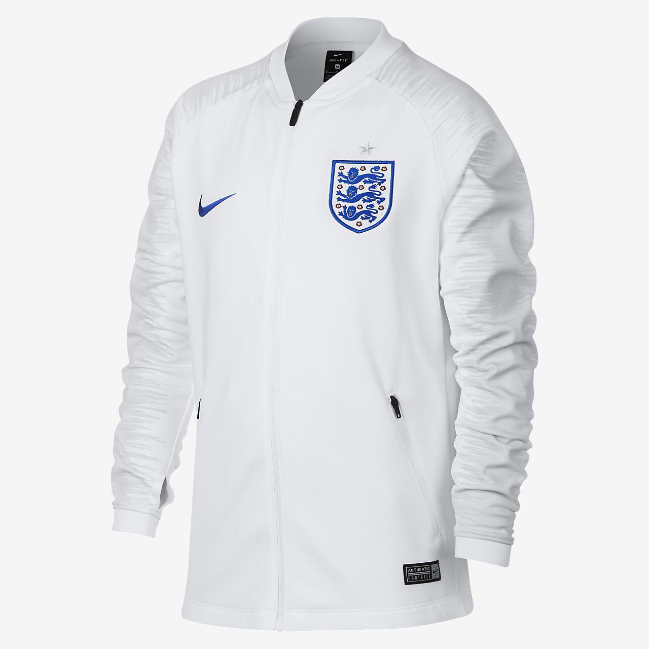 Fotbalová bunda England Anthem pro větší děti