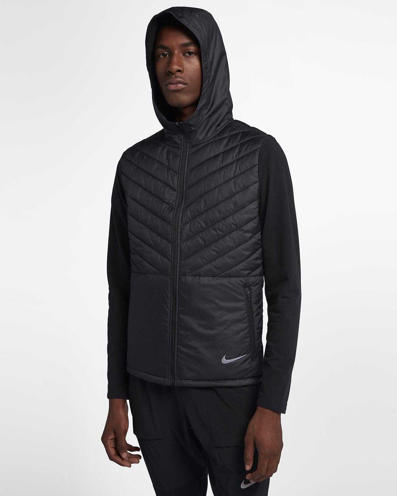 Nike AeroLayer Men s Hooded Running Jacket. Nike.com 0f0418dd1eee