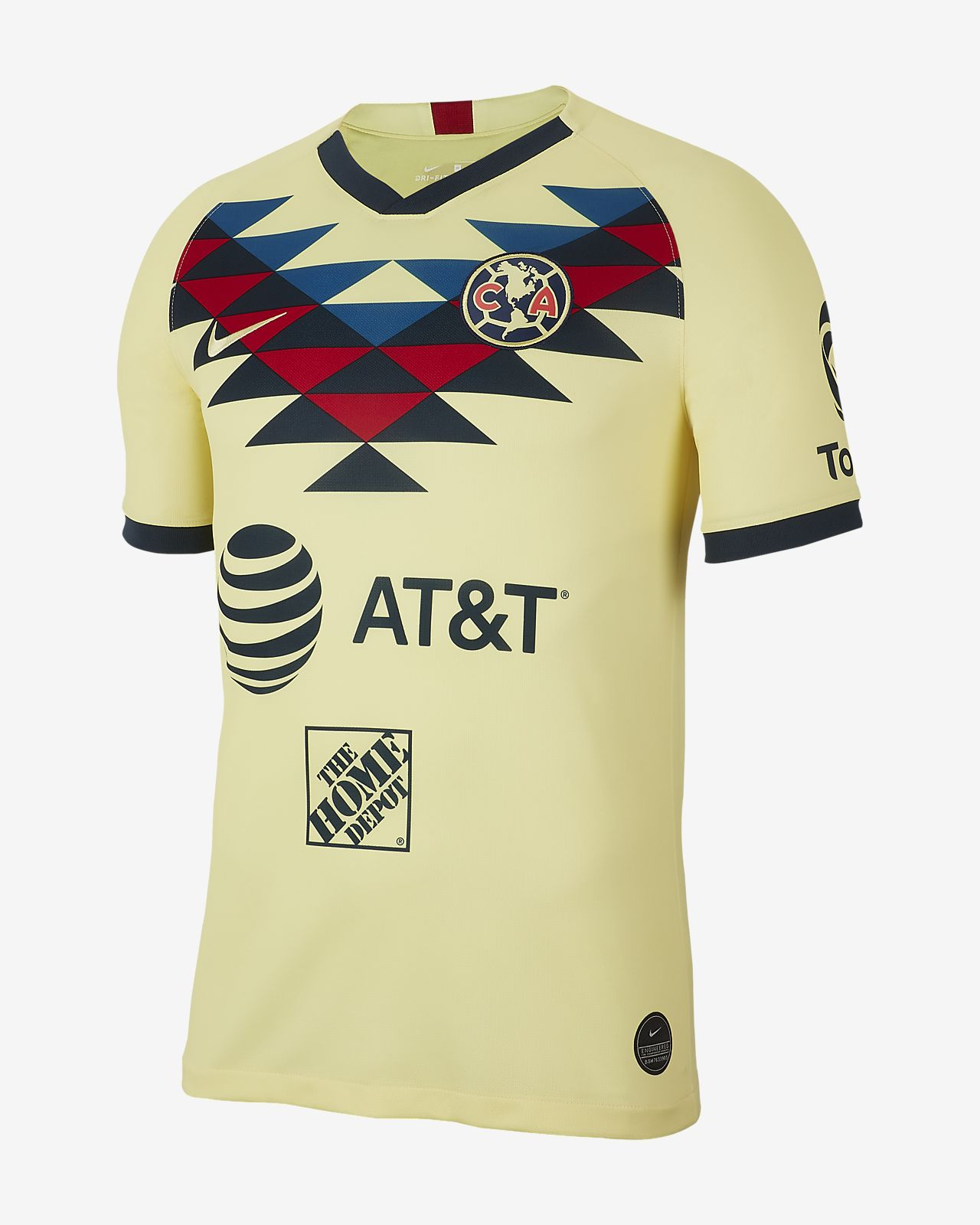 Club América 2019/20 Stadium Home Men's Football Shirt