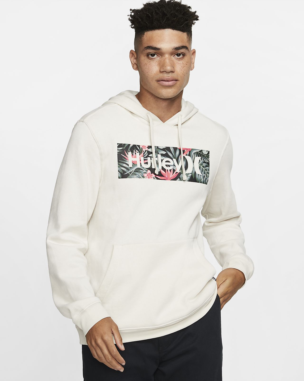 Sweat à capuche Hurley One And Only Boxed Party Wave pour Homme