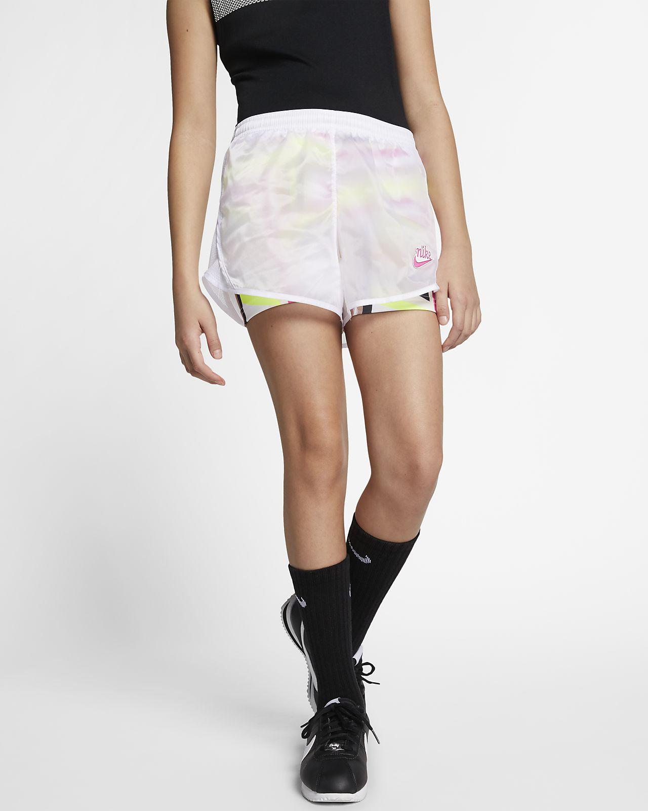 Nike Sportswear 大童(女孩)印花短裤