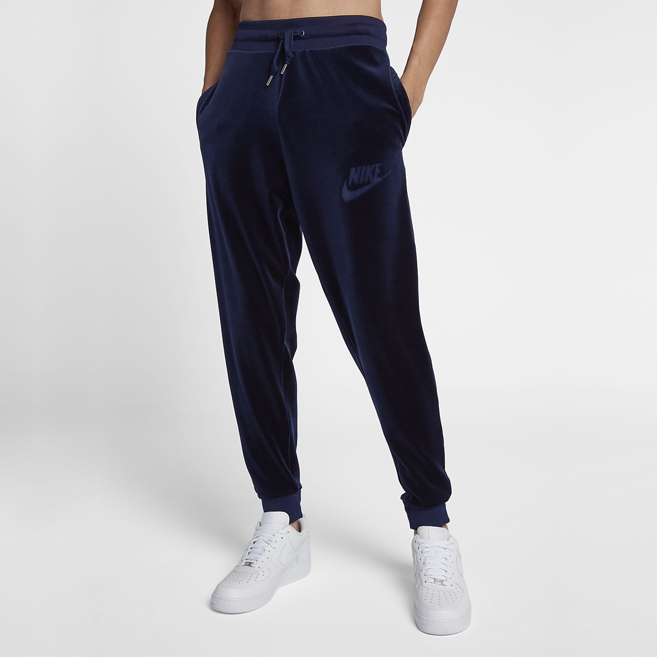 buy online 6a6a8 c1034 Low Resolution Nike Sportswear Men s Velour Trousers Nike Sportswear Men s  Velour Trousers