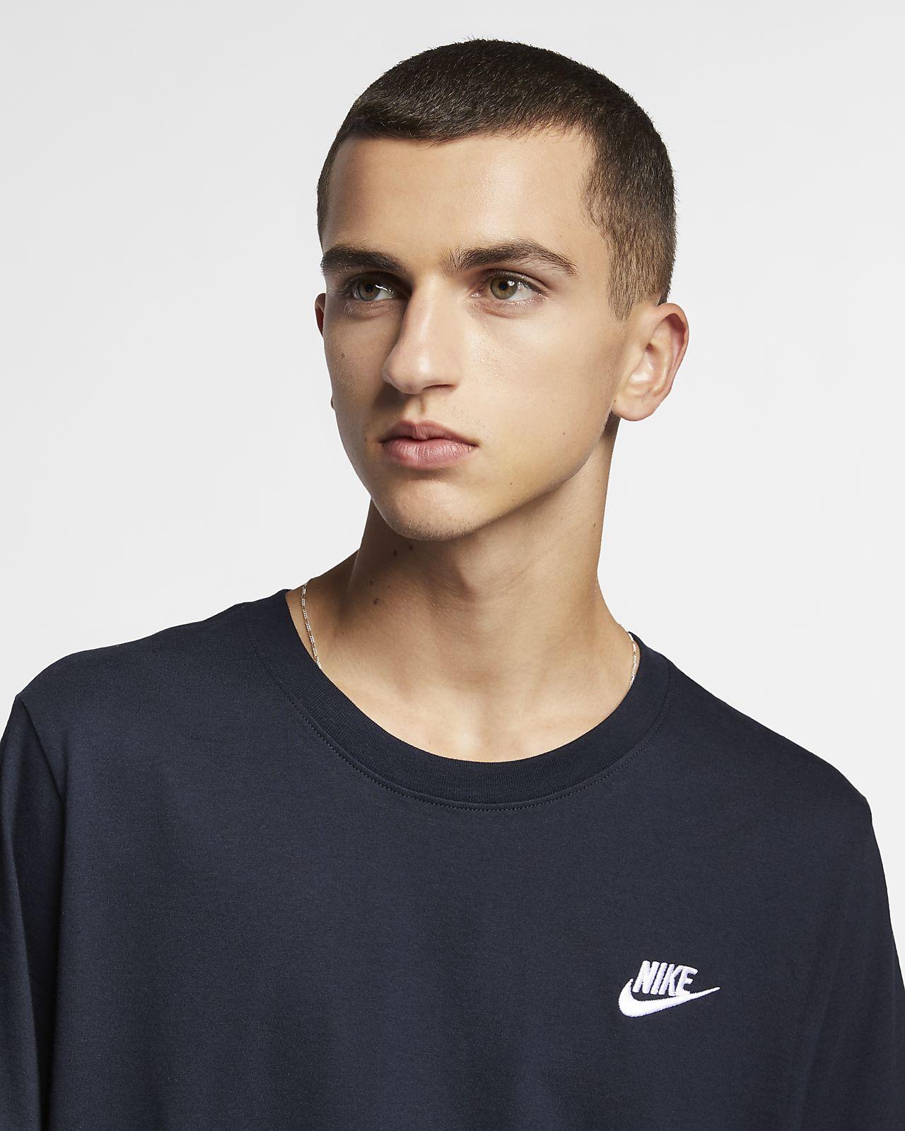 ebf255f32 Nike Sportswear Club Men's T-Shirt. Nike.com DK