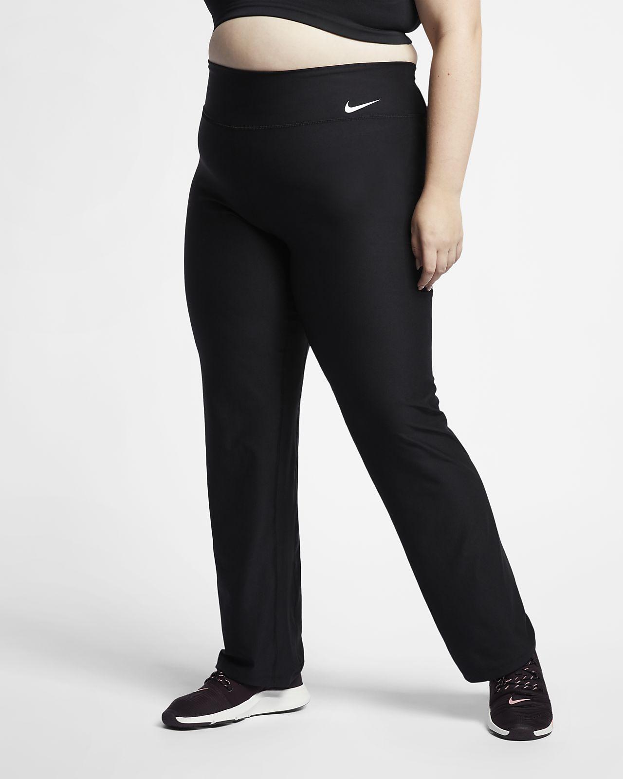 bbec7f74ccab1 Nike Power Women s Mid-Rise Training Pants (Plus Size). Nike.com