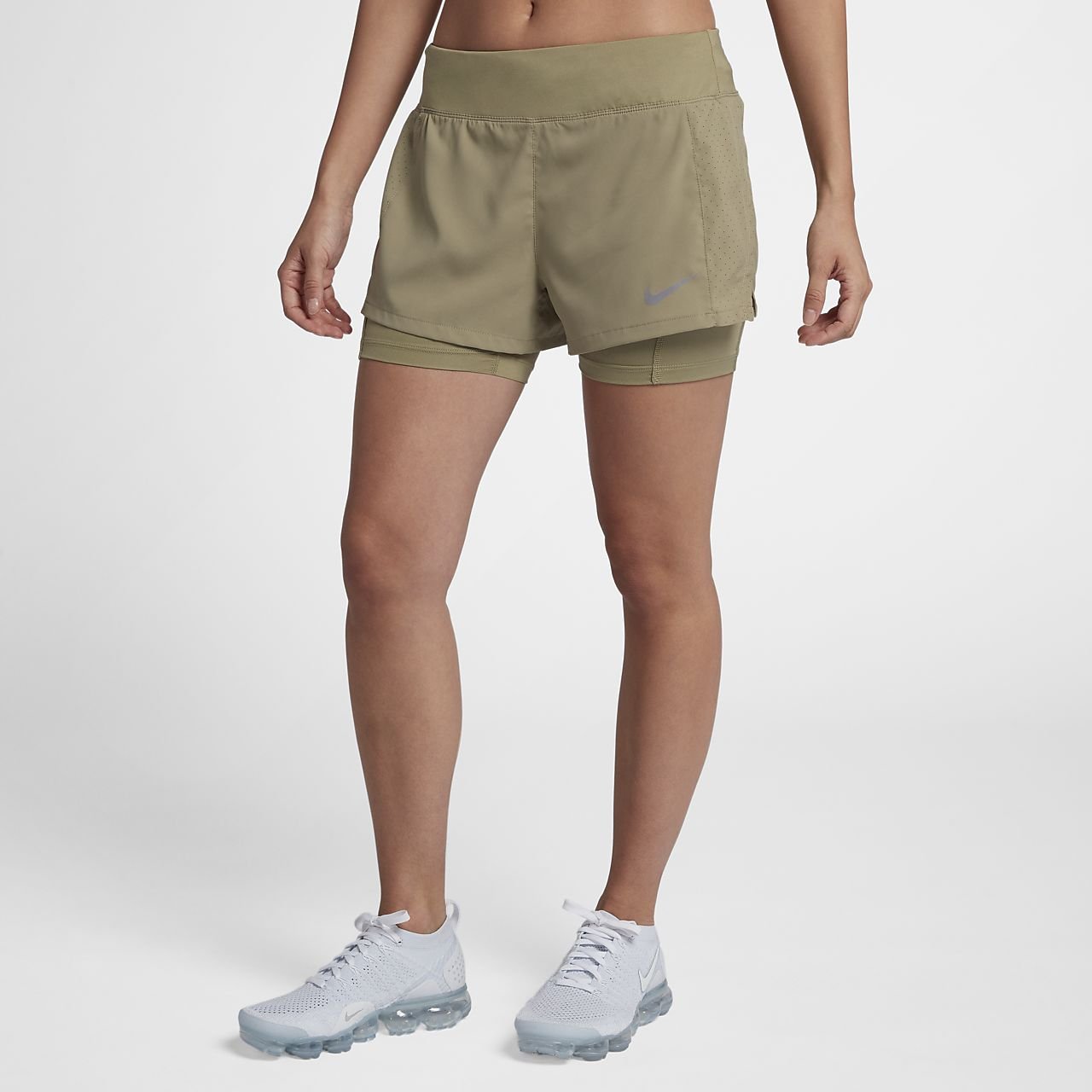 huge selection of 0920d 3a322 Nike Eclipse 2-in-1-Laufshorts für Damen