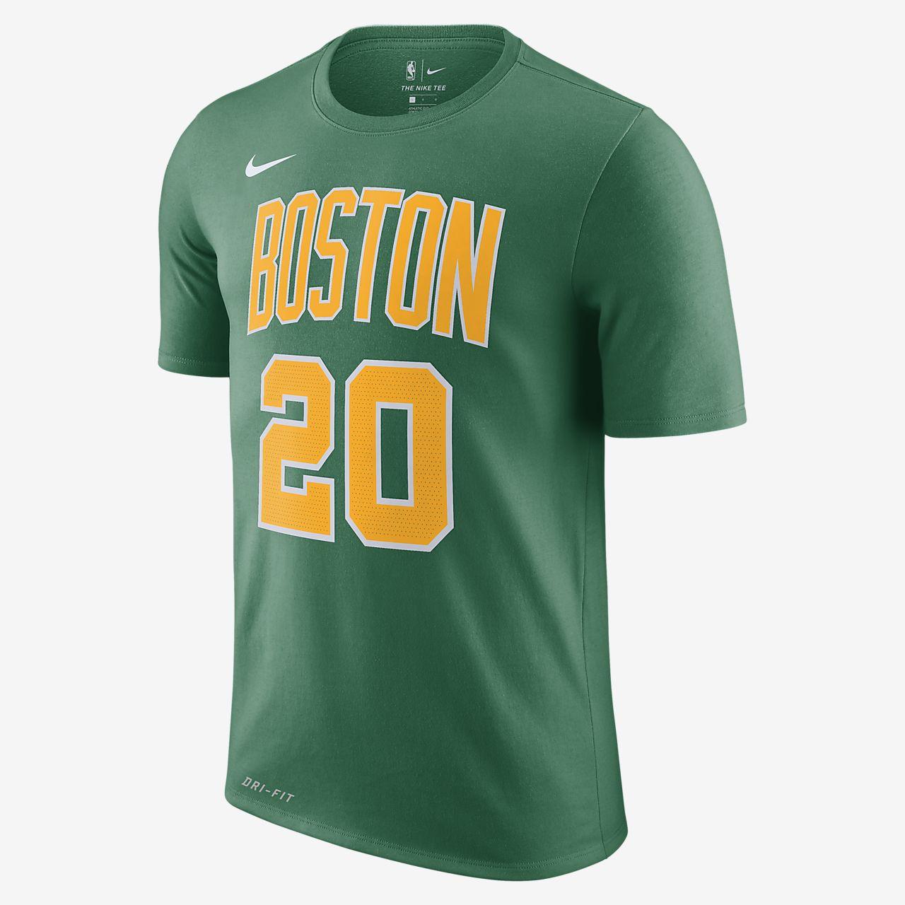 buy online b3859 f125d Gordon Hayward Boston Celtics City Edition Nike Dri-FIT Men's NBA T-Shirt
