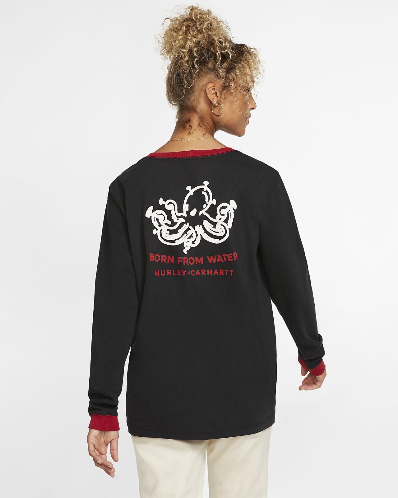 Hurley x Carhartt Outwork Ringer Women's Long-Sleeve T-Shirt