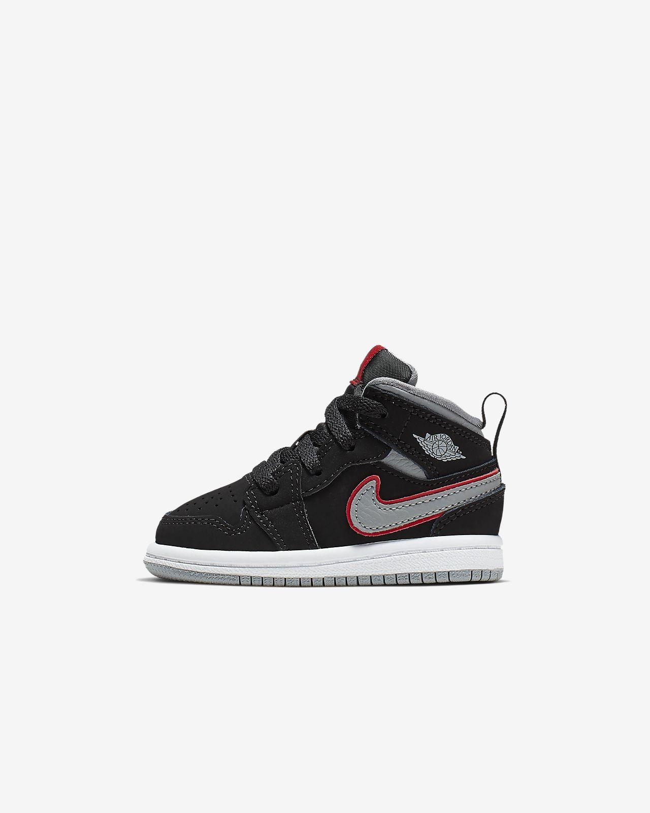 separation shoes 0592a 0a6cd Chaussure Air Jordan 1 Mid pour Bébé Petit enfant