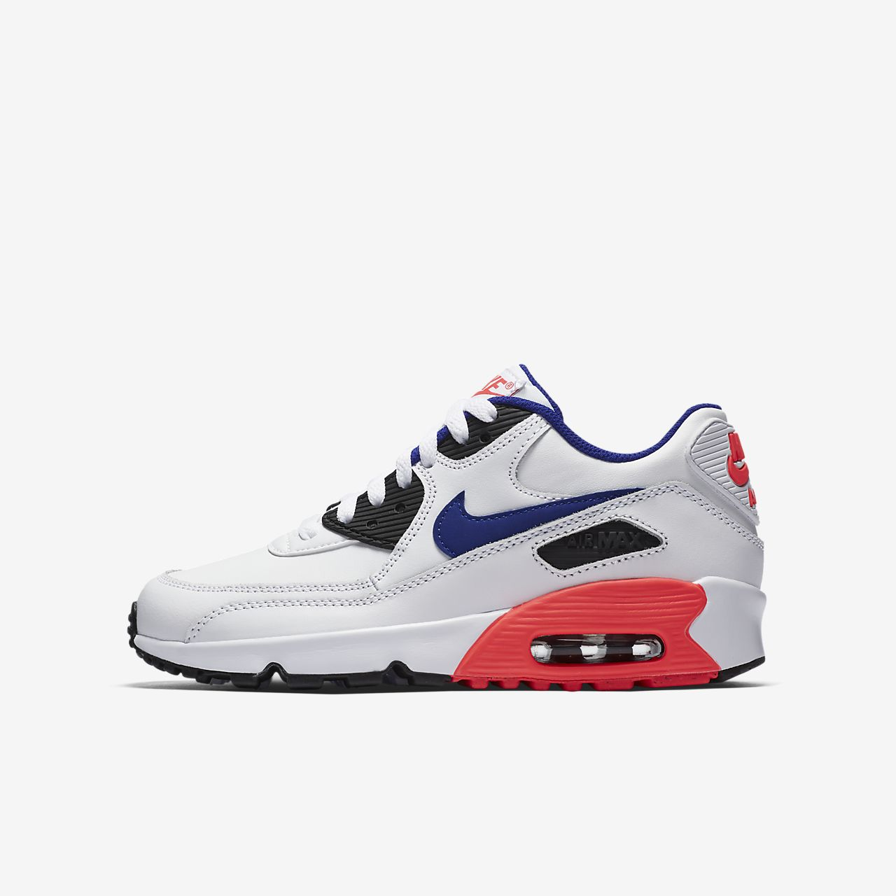 ... Nike Air Max 90 Leather Older Kids' Shoe
