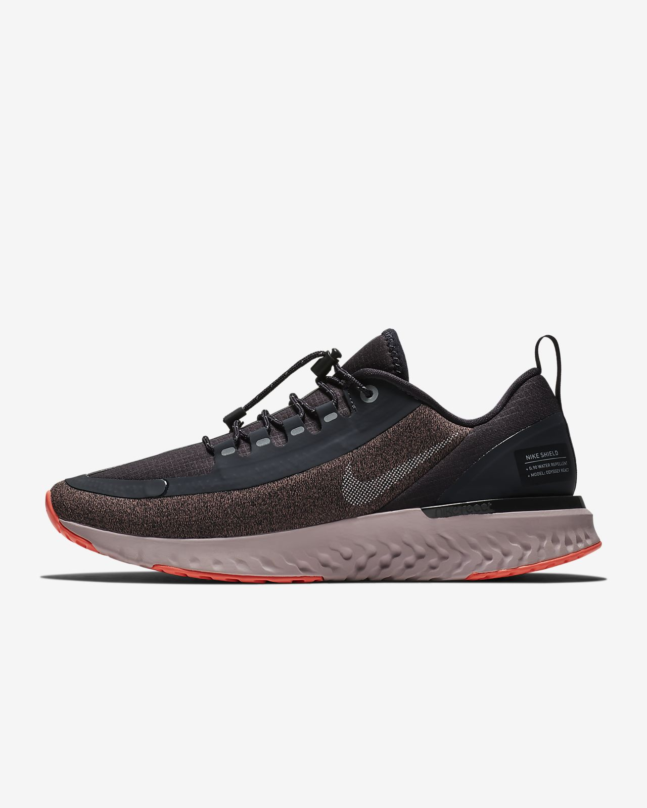 8989118aebf Nike Odyssey React Shield Water-Repellent Women s Running Shoe. Nike ...