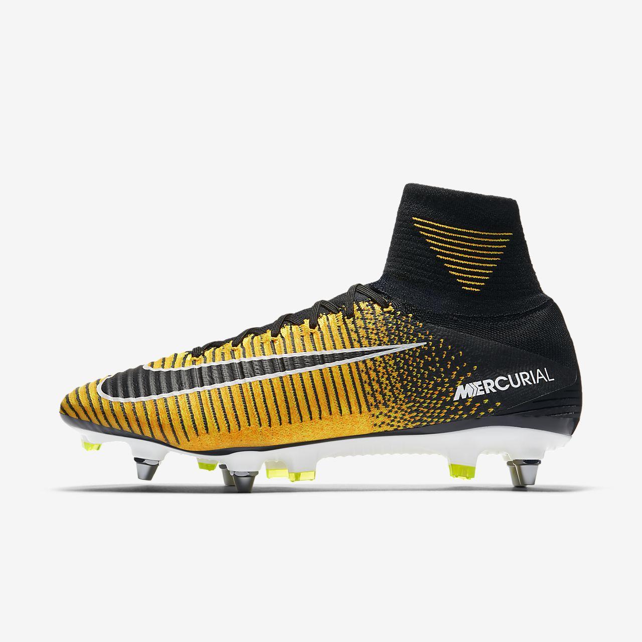 Nike Mercurial Superfly V Dynamic Fit SG PRO Fußballschuh für weichen Rasen