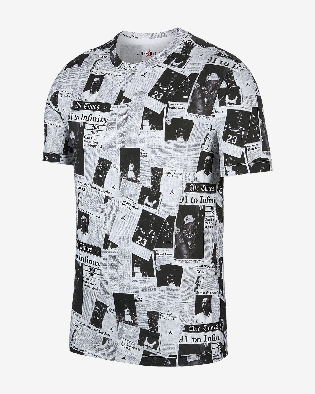 Jordan Rivals 男子印花T恤