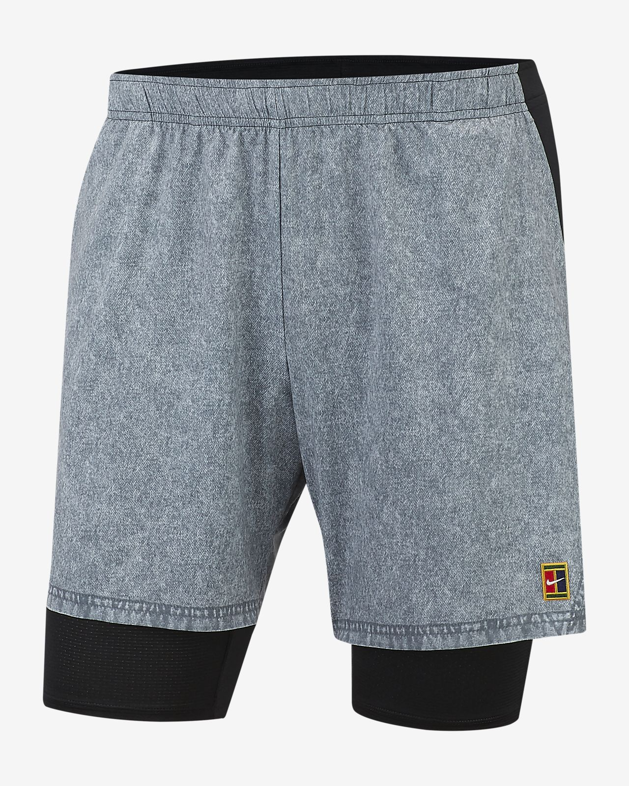 NikeCourt Flex Ace Men's Printed Tennis Shorts