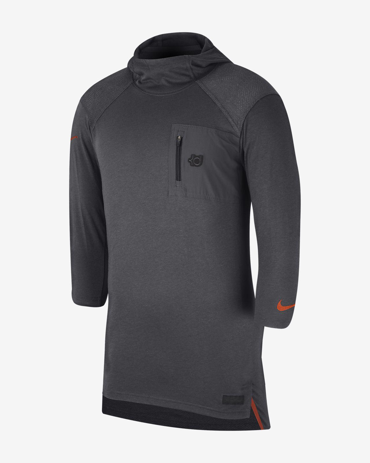 54e95c3d2 Nike College Dri-FIT KD (Texas) Men s 3 4-Sleeve Hooded Top. Nike.com