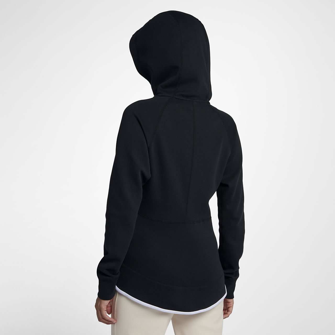 super popular 0b1e4 0f727 Nike Sportswear Tech Fleece Windrunner Damen-Hoodie mit durchgehendem  Reißverschluss