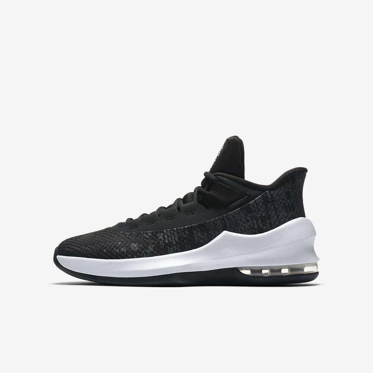 Basketbalová bota Nike Air Max Infuriate II Mid pro malé větší děti ... 558b297c8f