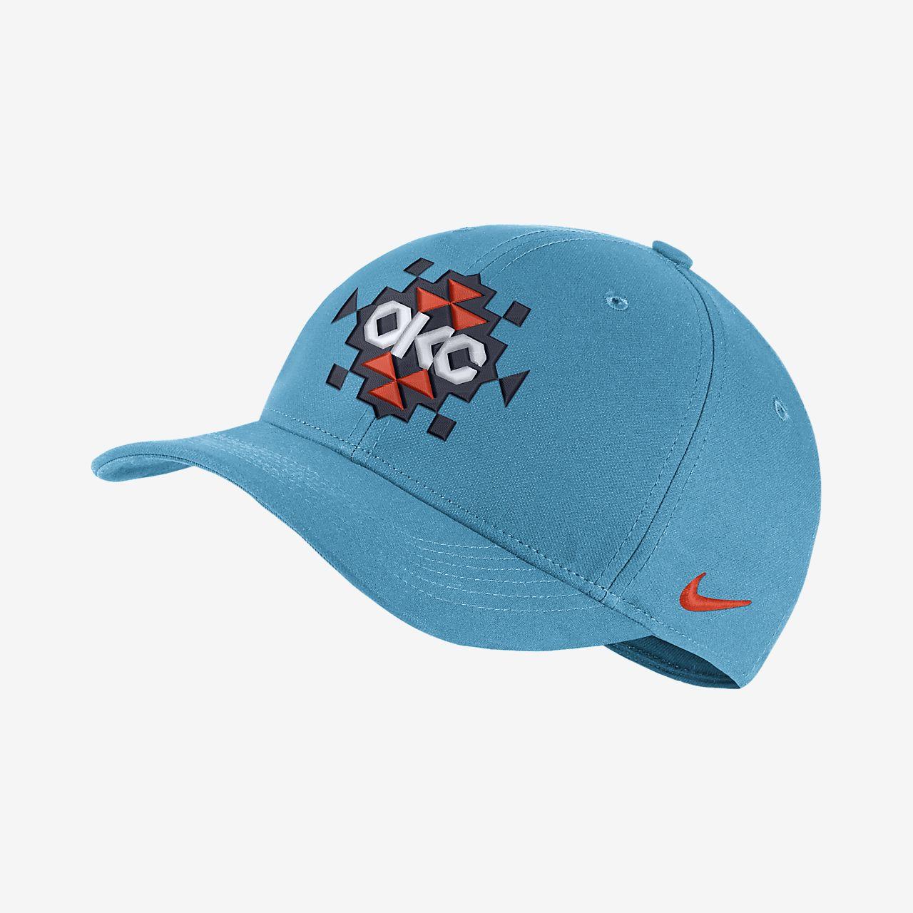 Oklahoma City Thunder City Edition Nike AeroBill Classic99 NBA Hat