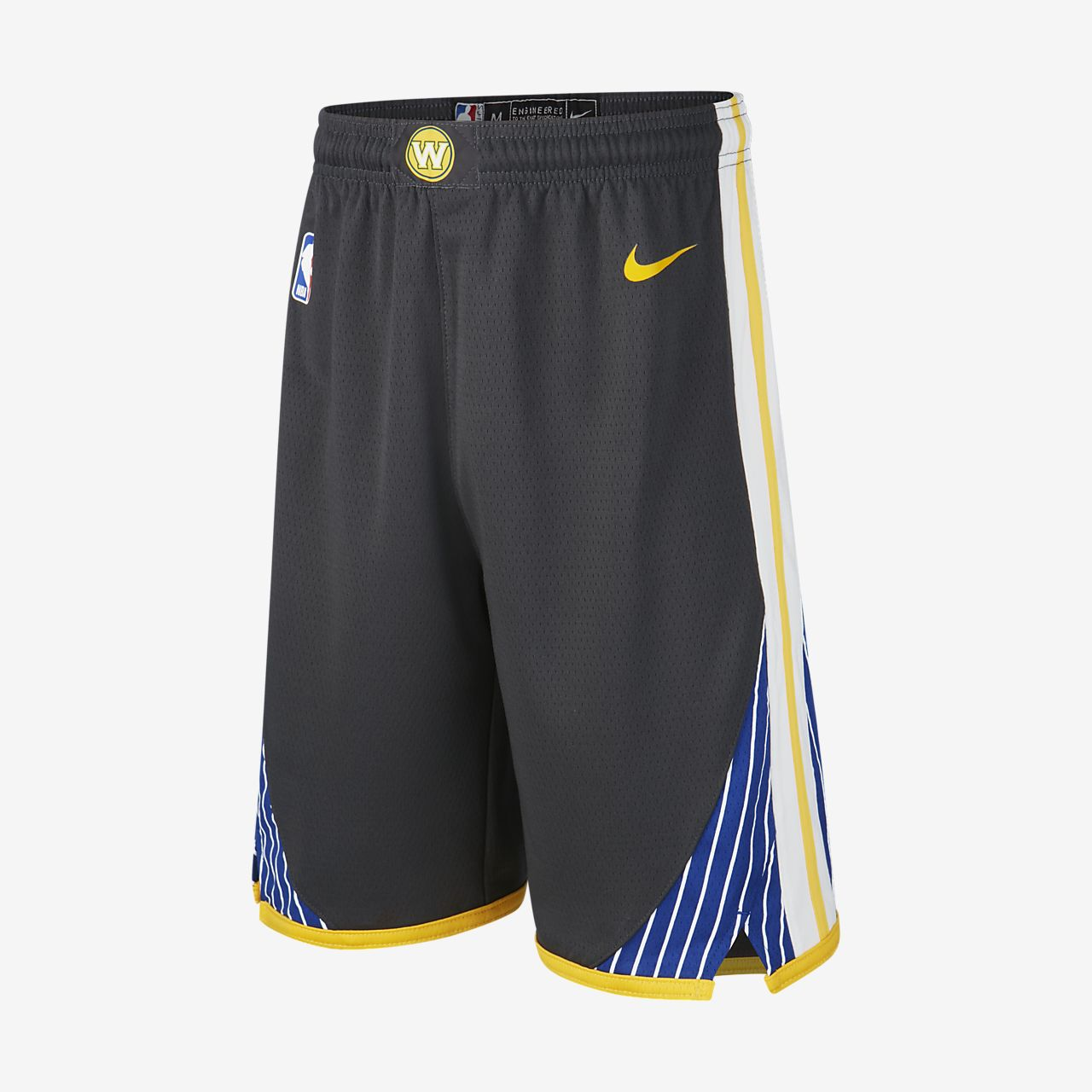 Short NBA Golden State Warriors Nike Statement Edition Swingman pour Enfant