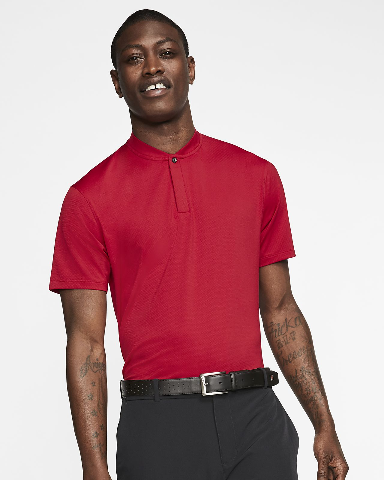 Polo da golf Nike Dri-FIT Tiger Woods - Uomo
