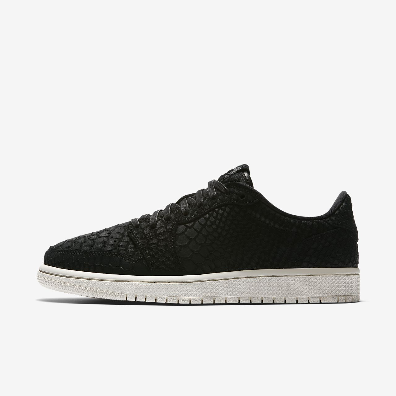 air jordan 1 low black nz