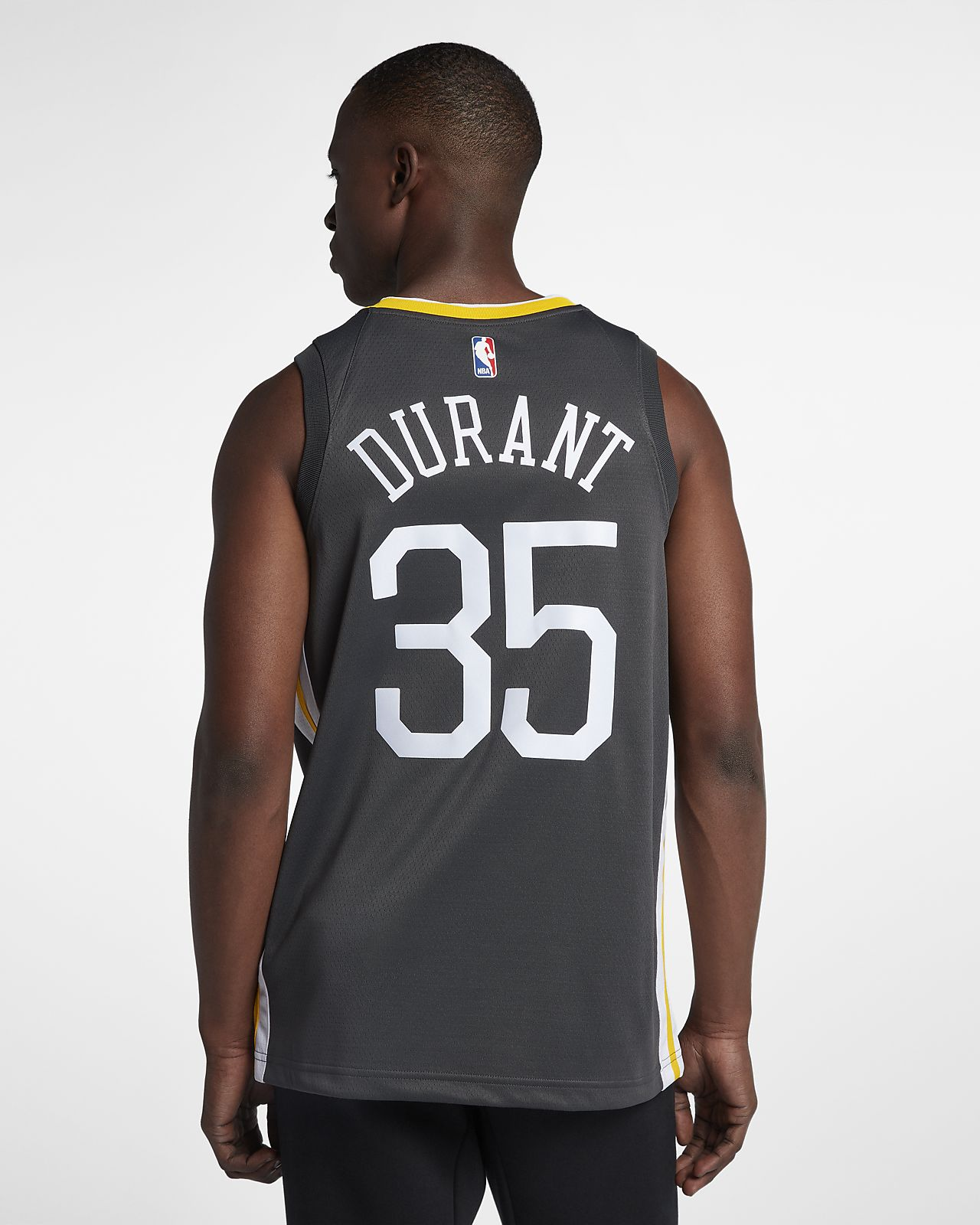 845e75eb0 ... Kevin Durant Statement Edition Swingman (Golden State Warriors) Men s Nike  NBA Connected Jersey