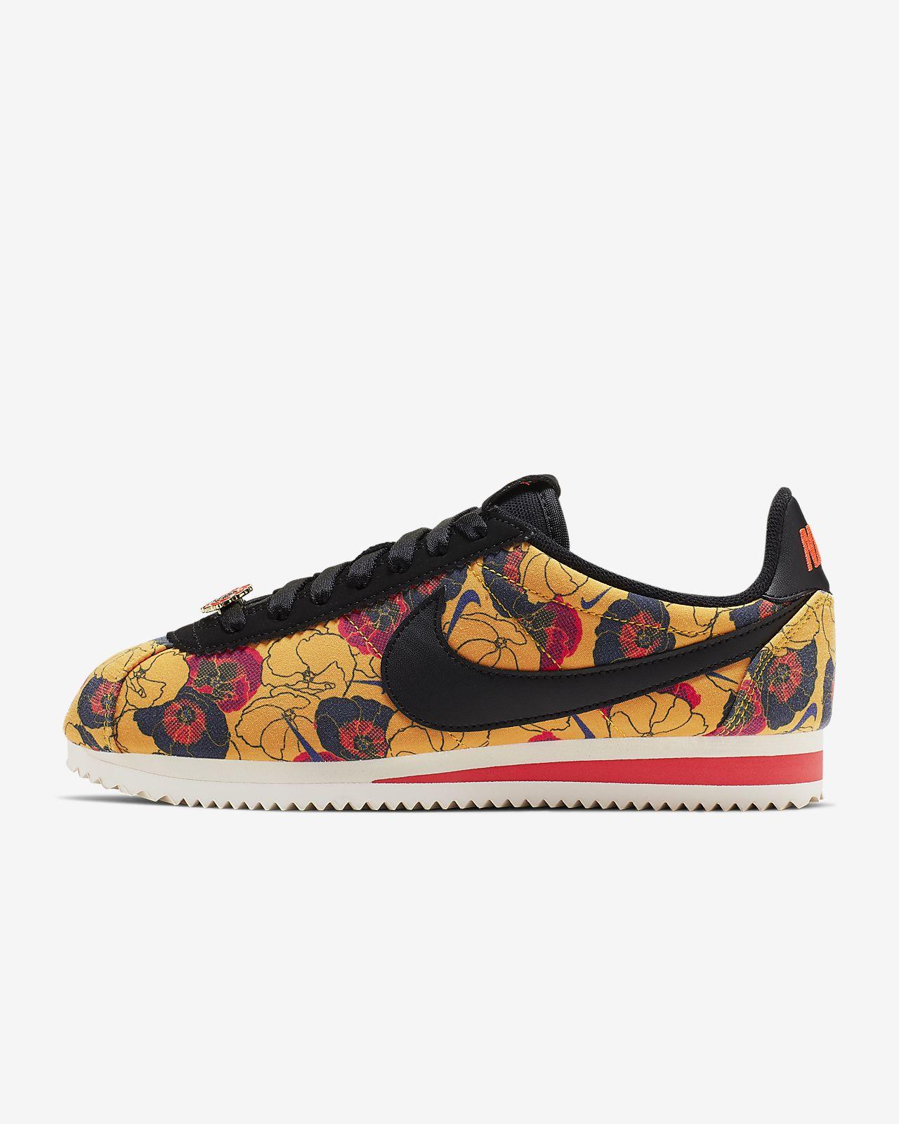 half off 76860 f424e ... Nike Classic Cortez LX Floral Damesschoen