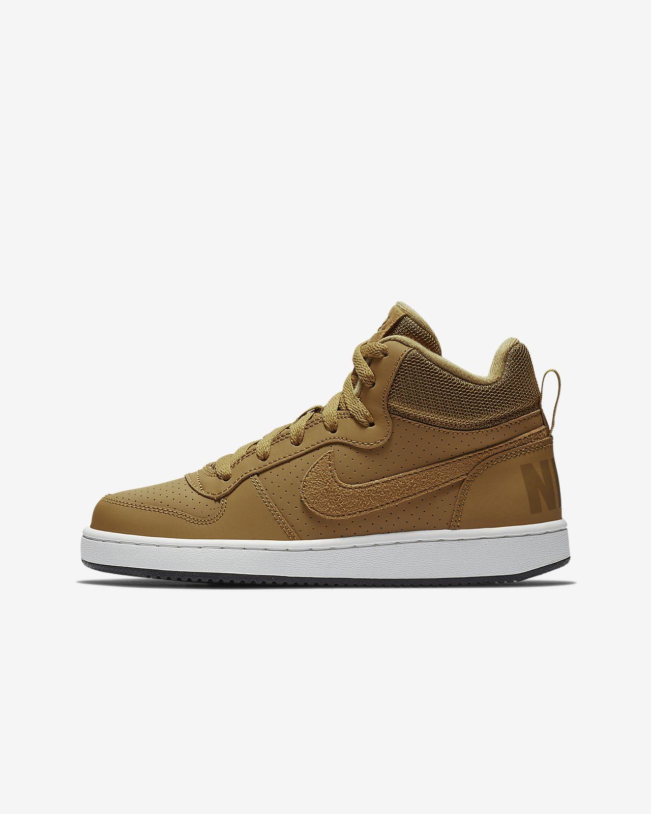 Plus Âgé Enfant Nike Pour Borough Mid Chaussure Court CoexrdB