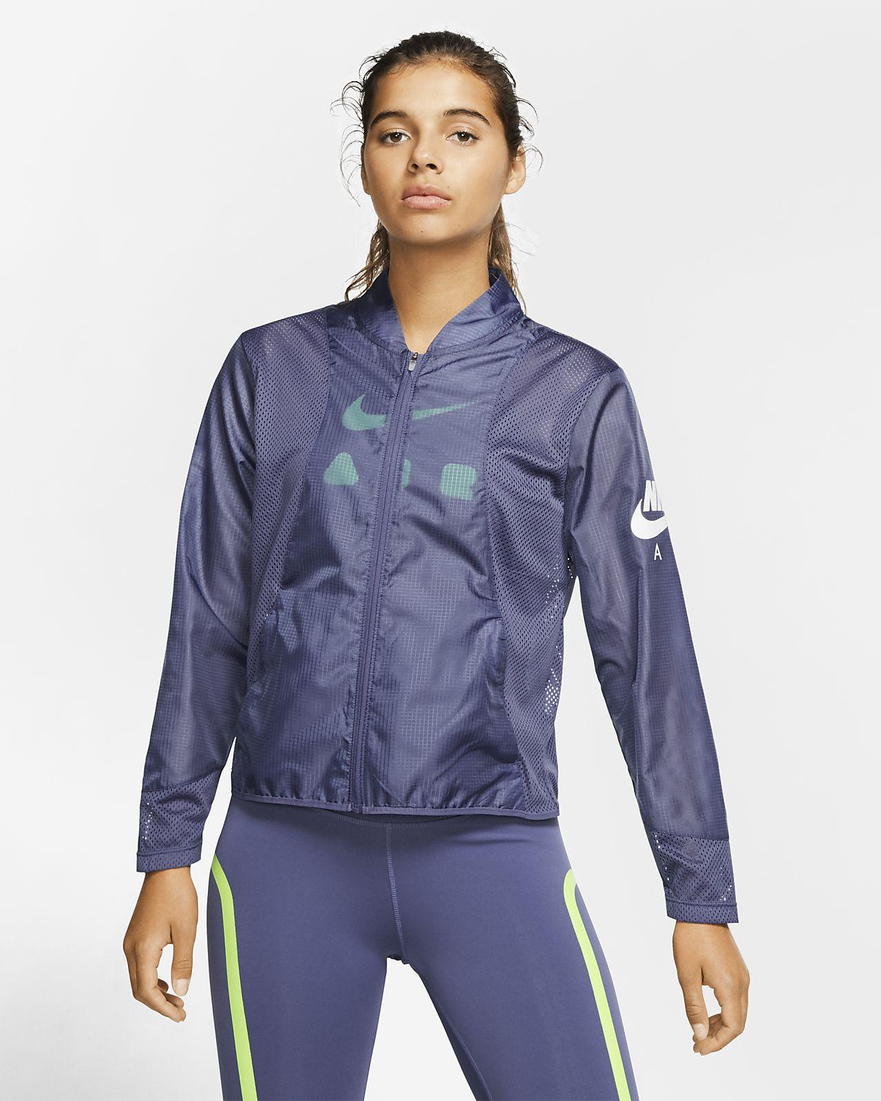 Nike-løbejakke til kvinder