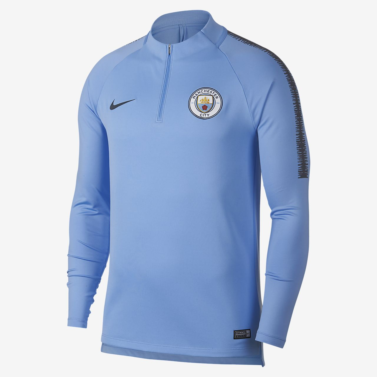 b42519fb85c Manchester City FC Dri-FIT Squad Drill Men s Long-Sleeve Football ...