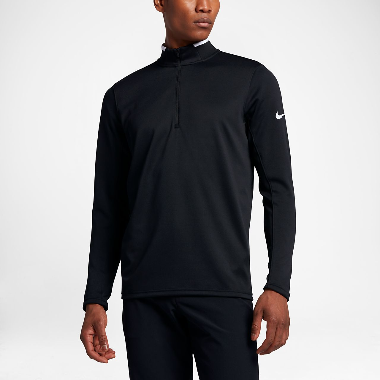 ... Nike Dri-FIT Half-Zip Men's Long-Sleeve Golf Top