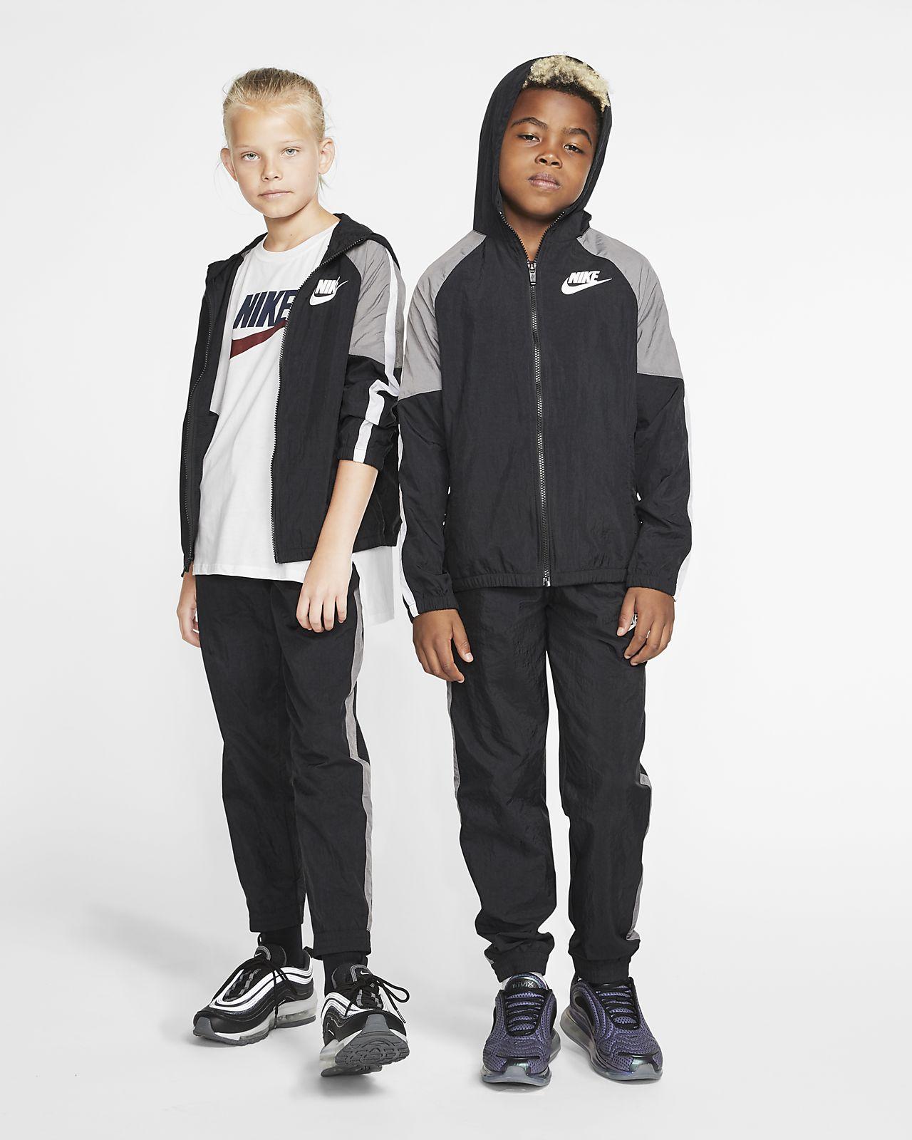 Nike Sportswear vevd tracksuit til store barn