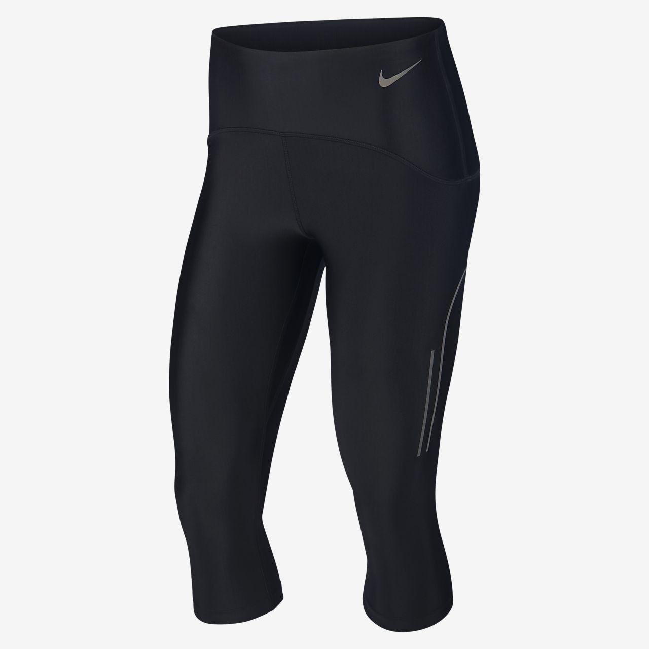 Pantalones capri de running para mujer Nike Speed