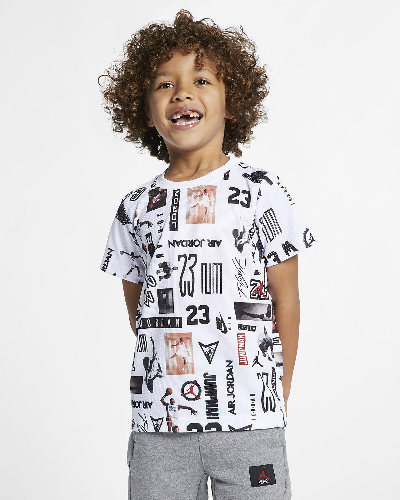 Jordan Sportswear Little Kids' Mesh T-Shirt