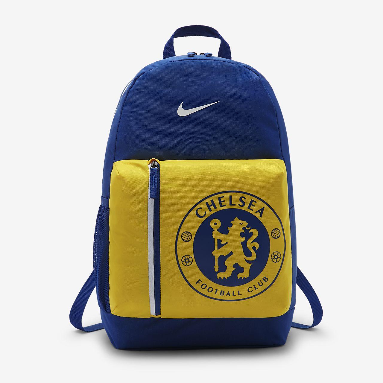 Dětský fotbalový batoh Chelsea FC Stadium pro děti. Nike.com CZ 87380e6c8ae
