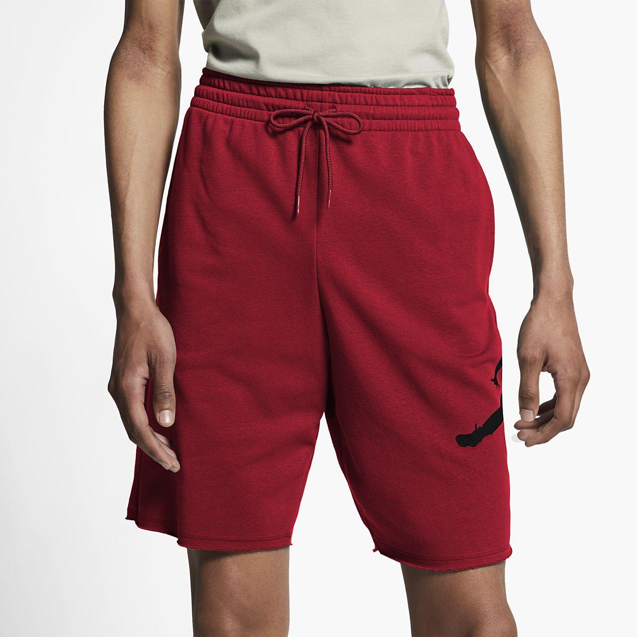 Jordan Jumpman Logo Men s Fleece Shorts. Nike.com 2ee4f2f747ff