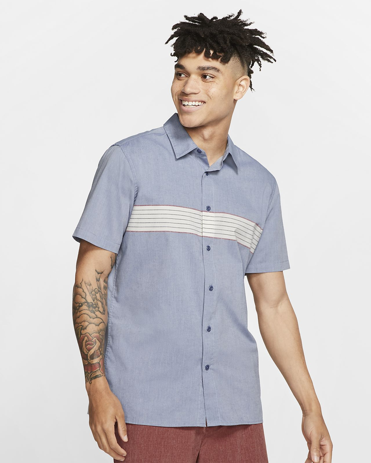 Hurley Dri-FIT Maritime Men's Short-Sleeve Top