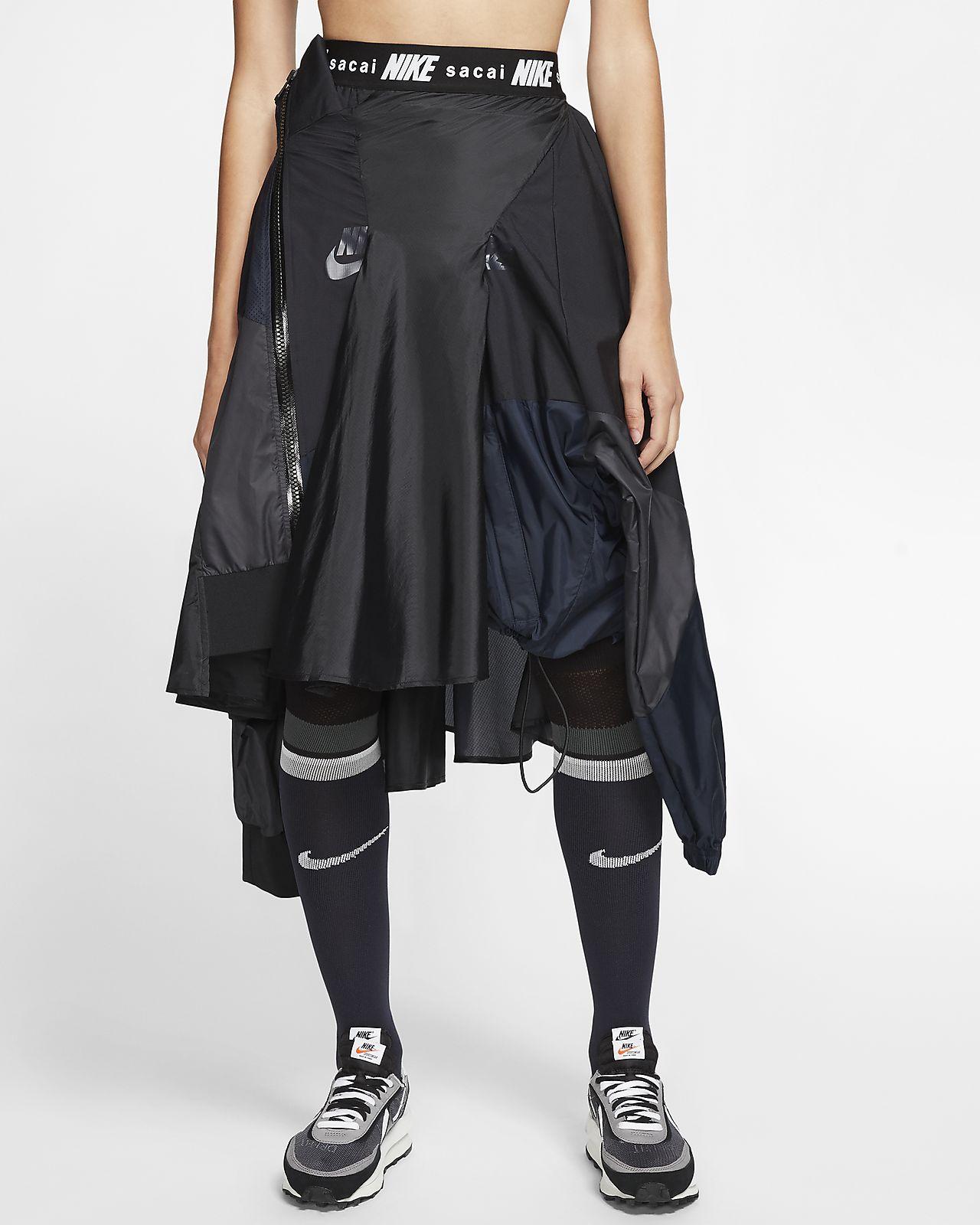 Nike x Sacai Damen Laufjacke mit Halbreißverschluss. Nike DE