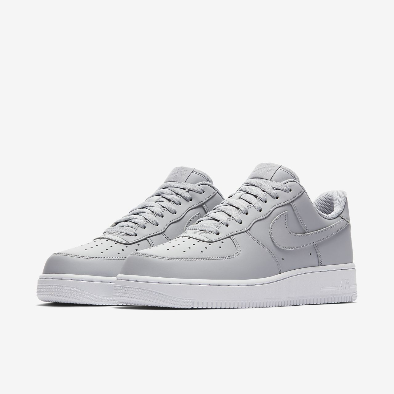Aa4083 013 Nike Air Force 1 ´07 Wolf Gris Blanc Chaussures