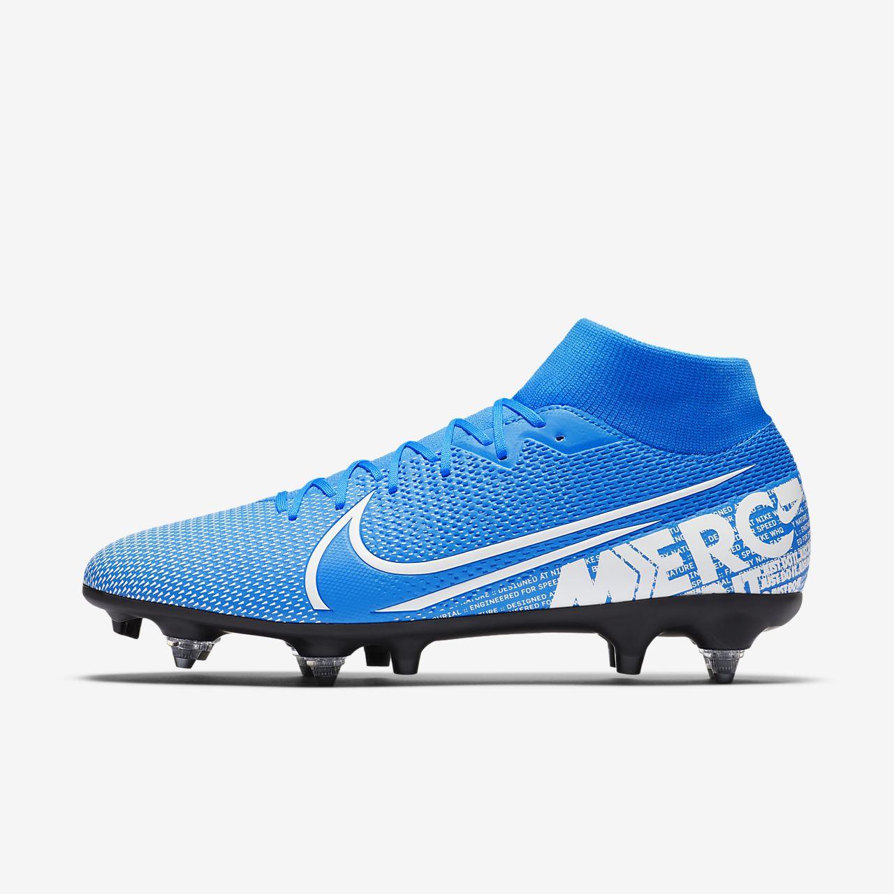 Nike Mercurial Superfly 7 Academy SG-PRO Anti-Clog Traction Fußballschuh für weichen Rasen