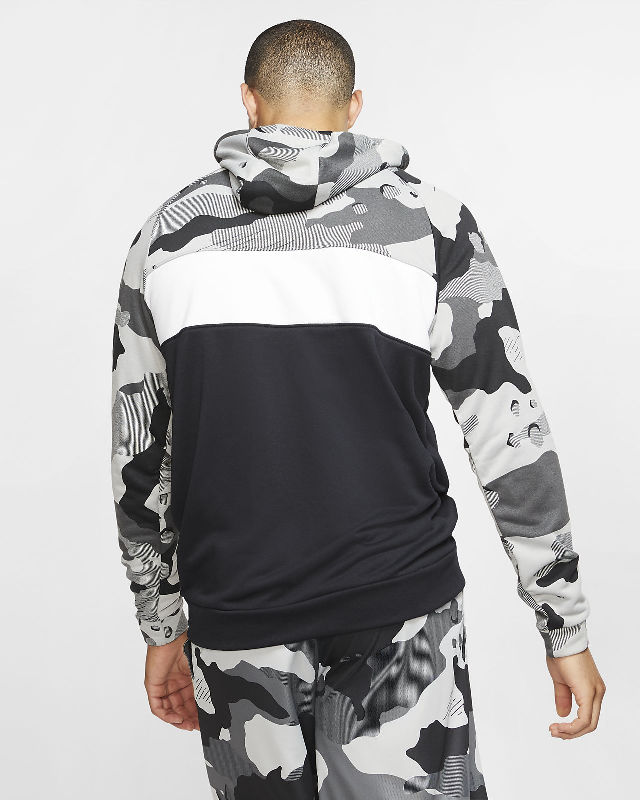 Camo Men's Training Nike Dri Fleece FIT Hoodie wN80vnmO